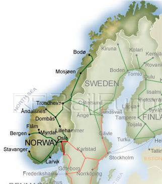 A Brief History Of Norway Niflheim - Norway map rivers